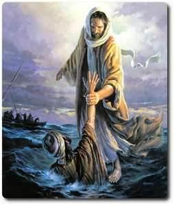 Jesus 01 - water walk
