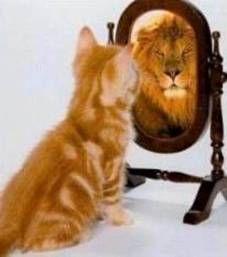 See self through God's eyes.