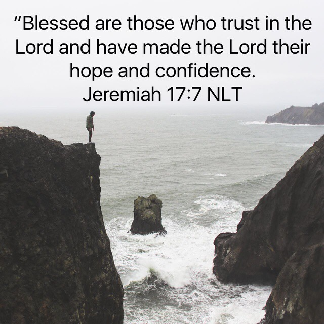 God Blesses Those Who Trust Him