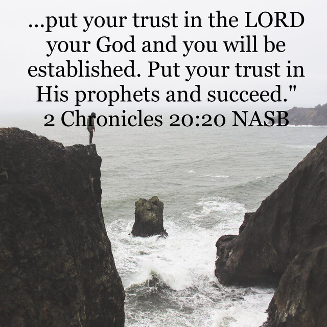 Trust In The Lord and Be Established