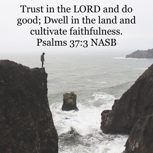 Trust in The Lord and Choose The Good