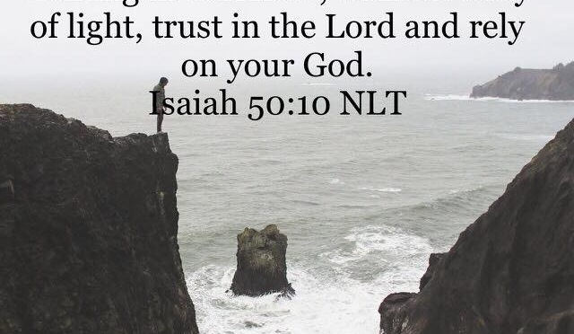 Trust in the Lord When the Path is Dark