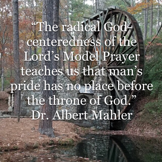 The radical God-centeredness of the Lord's Model Prayer