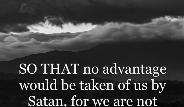 Remove Satanic Advantage