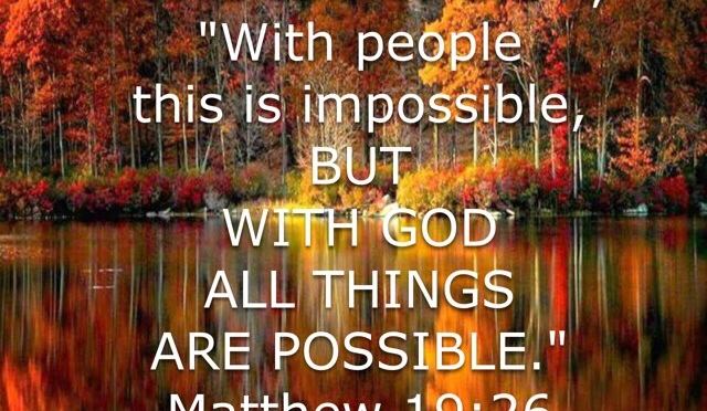 A Word for Today: POSSIBLE