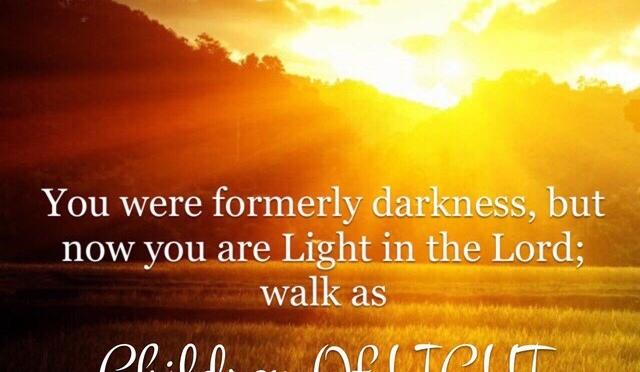 A Focus On Light: Walking LIGHT