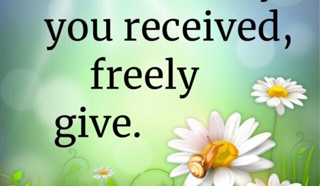 FREELY!