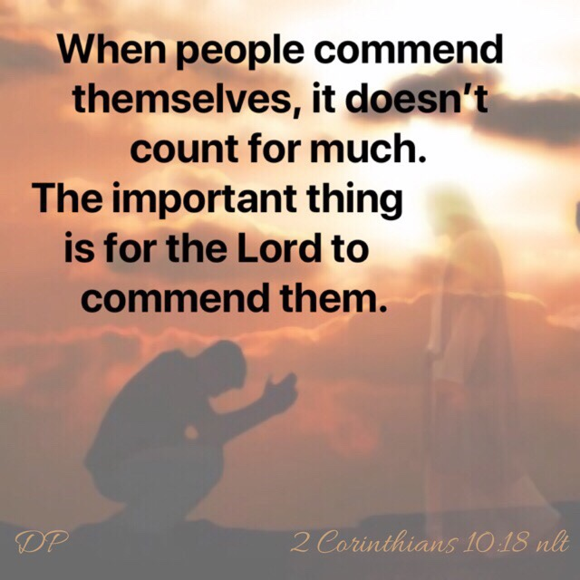 Commended by God