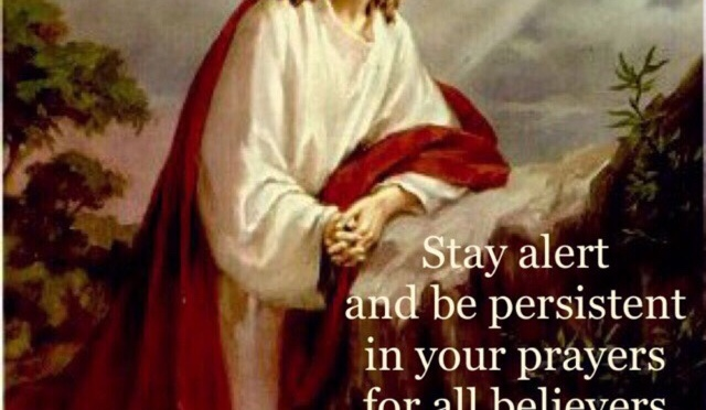 At All Times, Pray