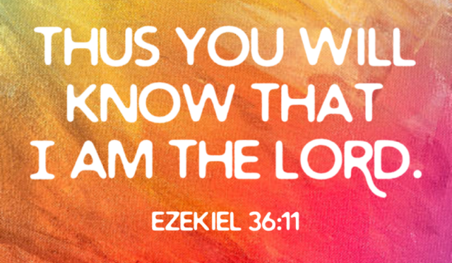Know He is Lord!