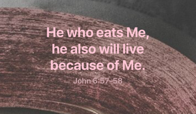 Feasting on Jesus